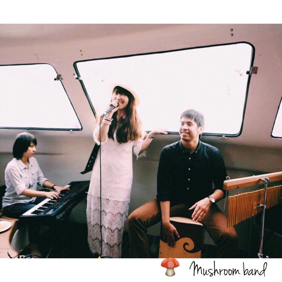 ร้องเพลงล่องเรือYACHTสุดหรู กับ MUSHROOM BAND — AT OCEAN MARINA YACHT CLUB, PATTAYA