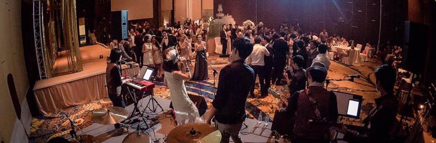 วงดนตรีงานแต่งงาน After Party Mushroom Band